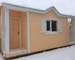 Модульный дом 6х2,3м с душем и туалетом